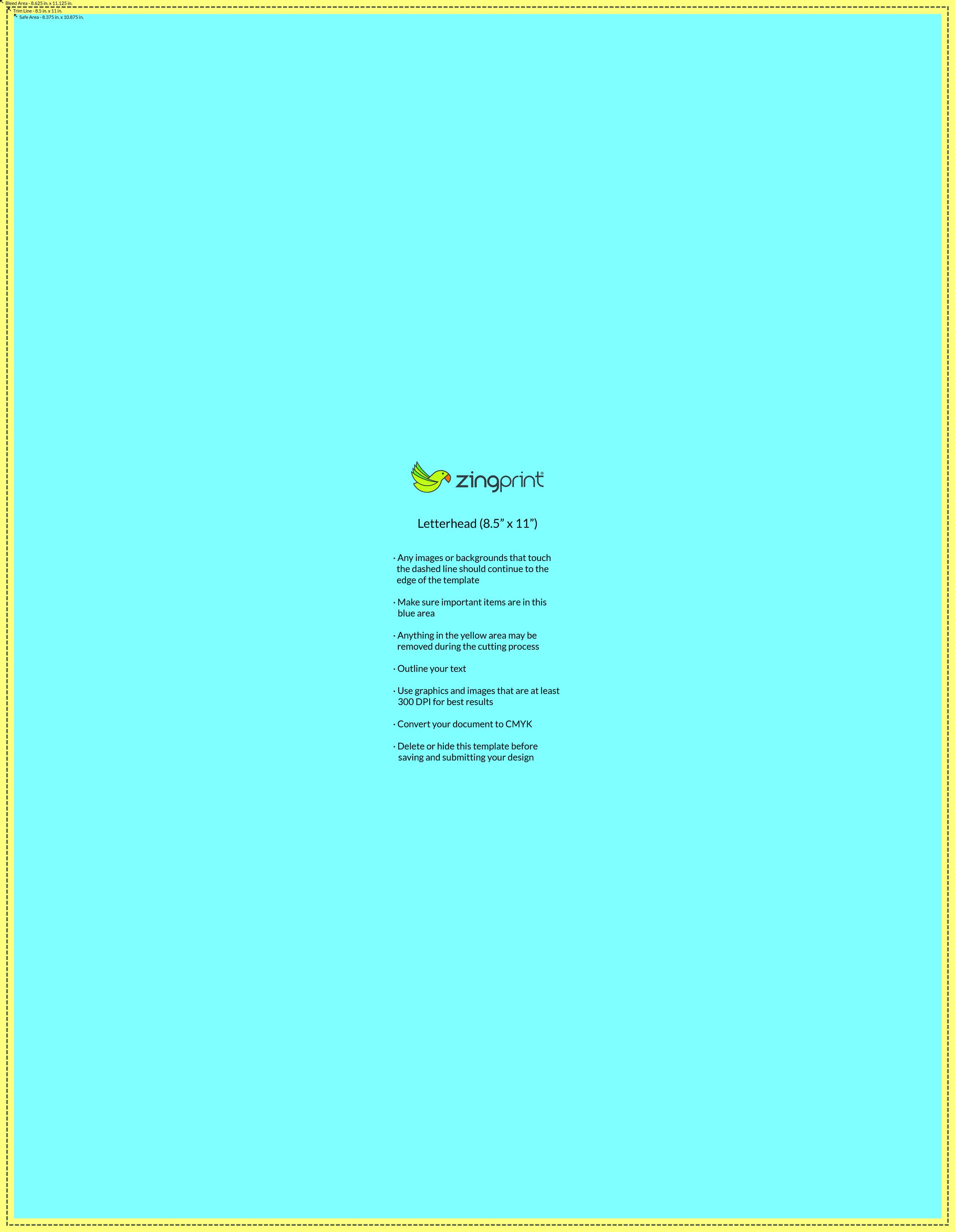 Templates zingprint letterhead spiritdancerdesigns Choice Image